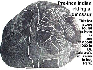 Ancient footprints of Acahualinca