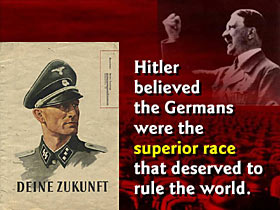 an introduction to adolf hitler and german supremacy in his book mein kampf Religious views of adolf hitler adolf hitler's  in his book mein kampf and in public  with the german editions [73] in his introduction to a 2013.