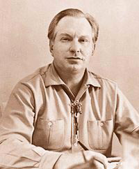 An older L. Ron Hubbard