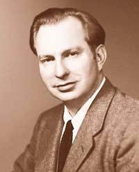 A young L. Ron Hubbard