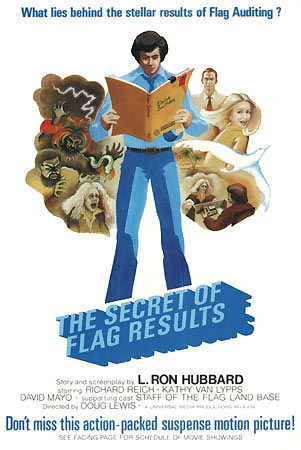 "Movie poster ""The Secret of Flag Results"""