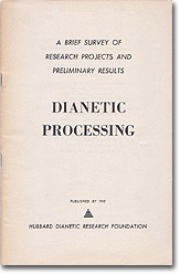 'Dianetic Processing: A Brief Survey' (1951)